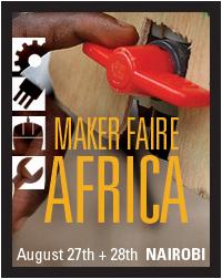 Maker Faire Africa 2010- Banner 7