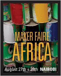 Maker Faire Africa 2010- Banner 8