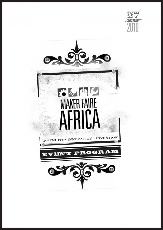 MFA2010 Event Program Maker Faire Africa – Event Program