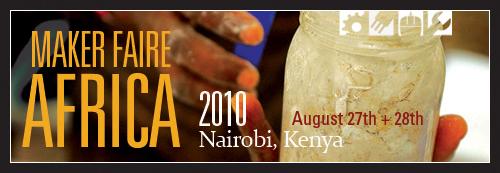 Maker Faire Africa 2010 - Banner 3