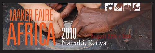 Maker Faire Africa 2010 - Banner 4