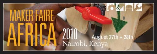 Maker Faire Africa 2010 - Banner 5