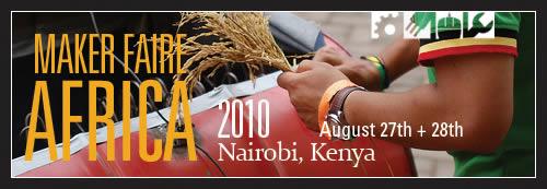 Maker Faire Africa 2010 - Banner 6