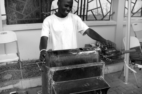 MFA_Ghana_Shea Nut Roaster